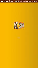 K24 TV APP screenshot thumbnail