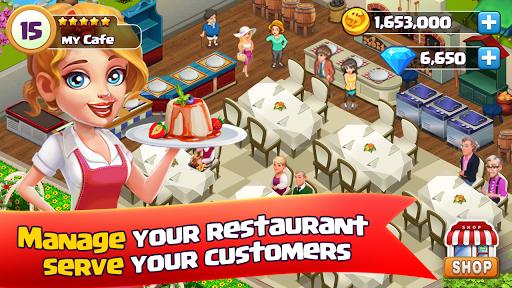 Cafe Restaurant - manager fast food kitchen  captures d'écran 1