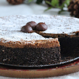 Roasted Chestnut Oreo Cake