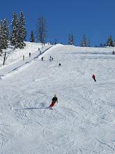 Photo: Das schneesichere Skigebiet Mitterberg/Hochkeil ist direkt von der Sporta-Hütte aus per Ski bzw. Snowboard erreichbar.