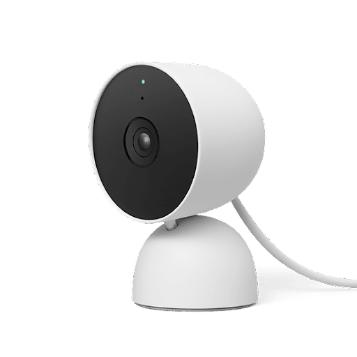 Side view of Nest Cam (wired)