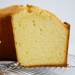 Traditional Pound Cake.