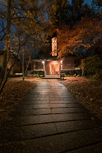Photo: Where The Light Is  Shooting a lovely chapel like this is nice enough. Doing it with beautiful autumn colors around and the sound of Christmas bells resounding in the air is pretty fantastic. A little more about this little church in Karuizawa at my blog:  http://lestaylorphoto.com/chapel-at-karuizawa-kogen-church/  #japan #travel #churches #autumn