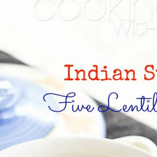 {Recipe} Panchmel Dal | Indian Style Five Lentil Curry.