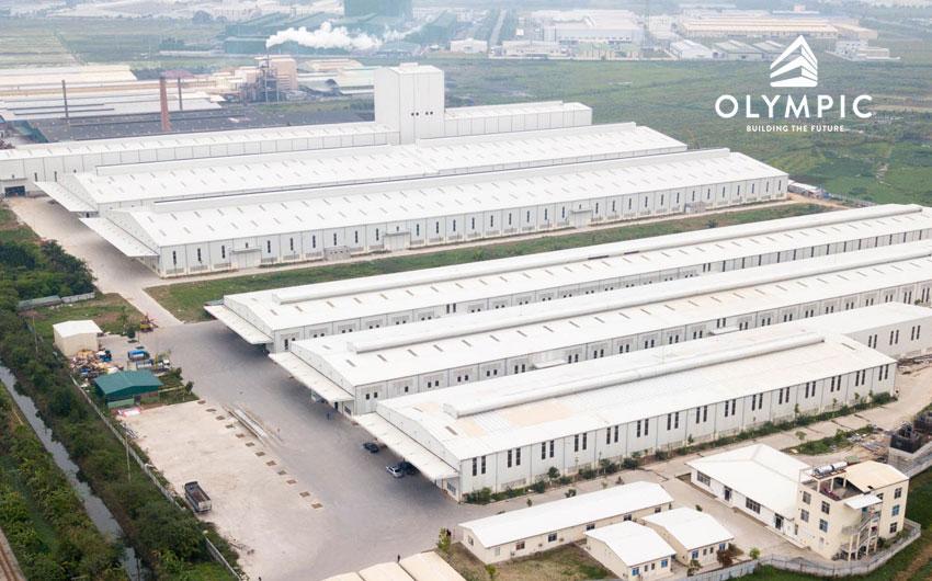 Tôn Olympic - Lựa chọn hàng đầu cho nhà xưởng