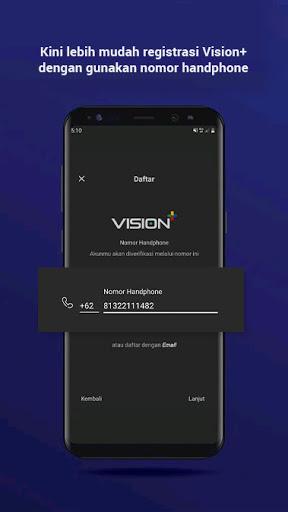Vision+ : Nonton TV & Film Streaming modavailable screenshots 1