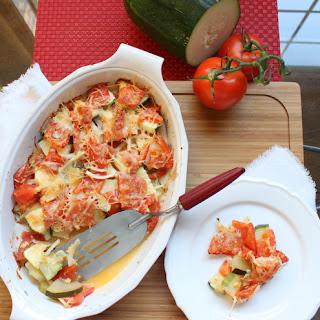 Zucchini & Tomato Gratin.