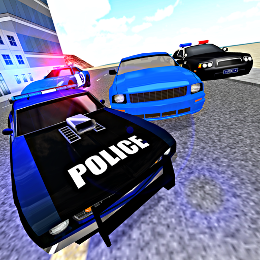 Police Car Chase Driving 3D