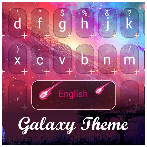 Galaxy Expedition Emoji Theme