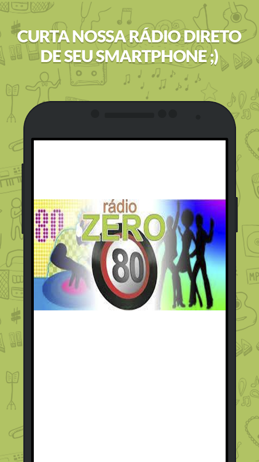 Web Rádio Zero 80- screenshot