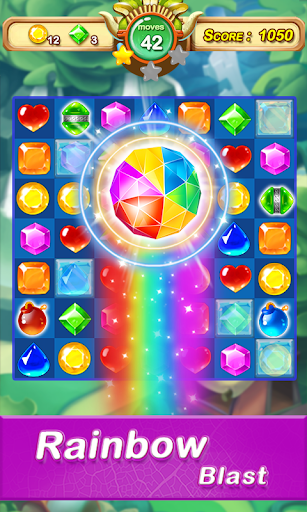 Jewel & Gem Blast - Match 3 Puzzle Game 1.4.7 Hack Proof 2