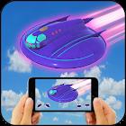AR UFO flying saucer battleship