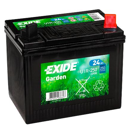 Tudor/Exide batteri 12V/24Ah---