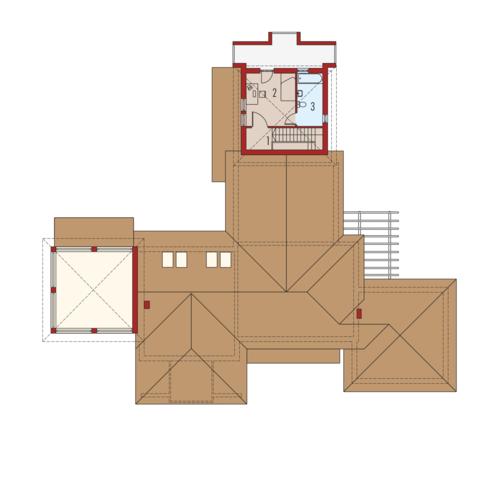 Dionizy mały G2 - Rzut piętra