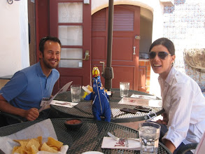 Photo: Lunch at Pedro's with Airplaine-builder Erik and NASA Kepler's Michele !