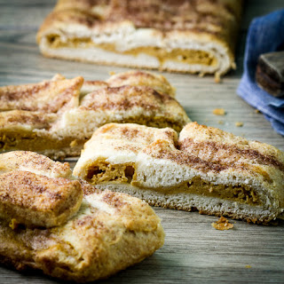 Pumpkin Cream Cheese Braid