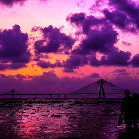 Where there is love there is life by Milind Shirsat - Landscapes Beaches