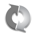 Synker Grayscale Theme icon