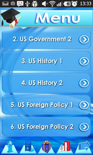 Foreign Policy I. relations