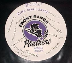 Photo: Signed Hockey Platter