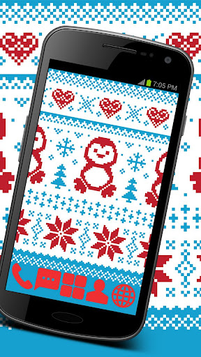Sweet Christmas Theme GO ADW