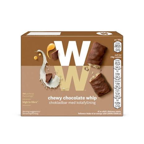 Chokladbar med kolafyllning