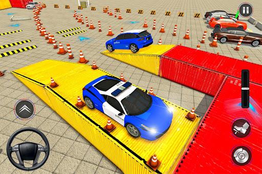 Modern Police Car Parking 2020: Multi Level Parker painmod.com screenshots 6