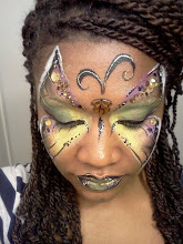 Photo: Butterfly face paint by Teressa, Santa Ana, Ca.Call to booked Teressa for your next event: 888-750-7024