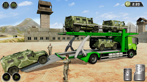OffRoad US Army Helicopter Prisoner Transport Game 2.2 screenshots 9