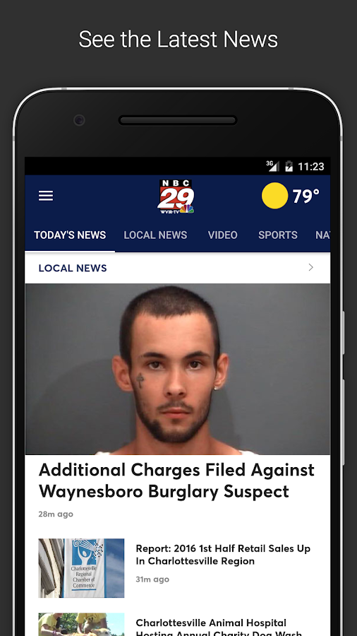 NBC29 News Now- screenshot
