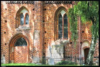 Photo: Dorfkirche aus dem 14. Jht. in Dambeck bei Wismar