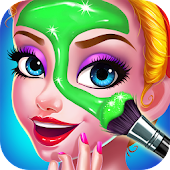 Princess Beauty Salon - Birthday Party Makeup