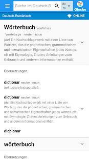 Rumänisch-Deutsch Wörterbuch - náhled
