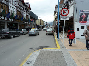 Photo: Beautiful downtown Ushaia, Argentina...the southernmost city on earth--and the port for the antarctic excursion ships. Here was where our adverture began.
