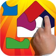 Shape Builder Preschool Puzzle  Icon