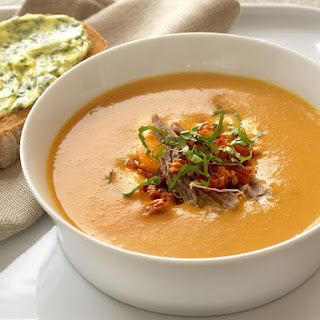 Creamy Tomato and Veal Soup