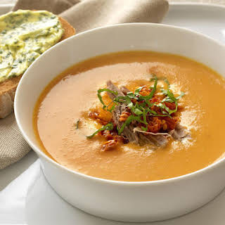 Creamy Tomato and Veal Soup.