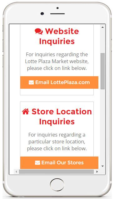Lotte Plaza Market- screenshot