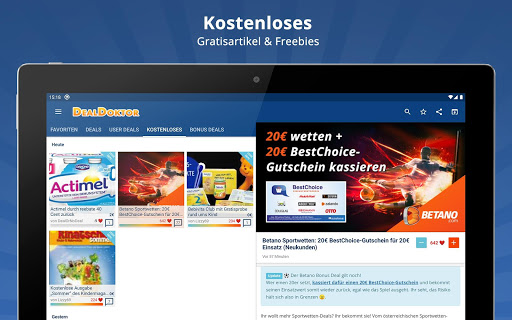 DealDoktor » Schnäppchen, Kostenloses, Gutscheine 5.5.5 screenshots 14