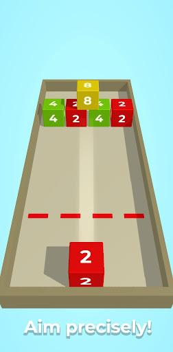 Chain Cube: 2048 3D merge game filehippodl screenshot 4