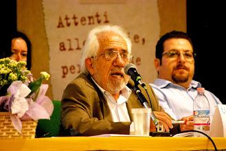 Photo: Il prof. Luiz Alberto Gomez de Souza, brasiliano, docente di sociologia alla Università Candido Mendes di Rio de Janeiro.