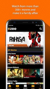 OZEE Free TV Shows Movie Music- screenshot thumbnail