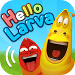 HELLO LARVA Icon