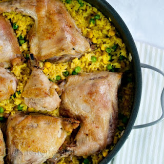 Yellow Rice And Chicken (Arroz Con Pollo)