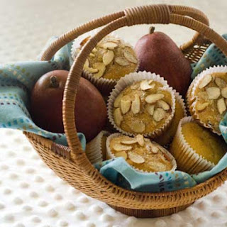 Gluten Free Healthy Pear Muffins