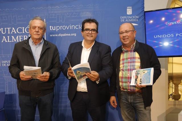 José Juan Soria, Antonio J. Rodríguez y Francisco Góngora durante la presentacación.