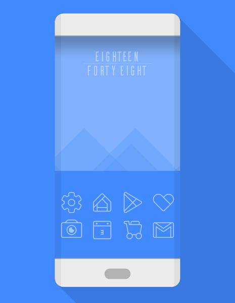 TwoPixel Light – Icon Pack v3.2