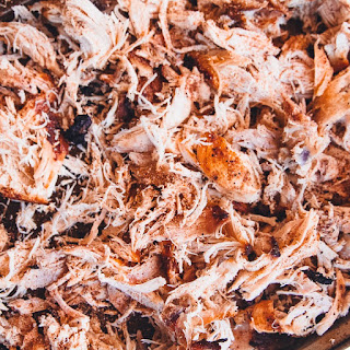 Smoked Barbecue Pulled Chicken
