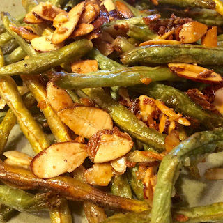 Garden Goblins Roasted Beans & Almonds with Smashed Garlic Butter