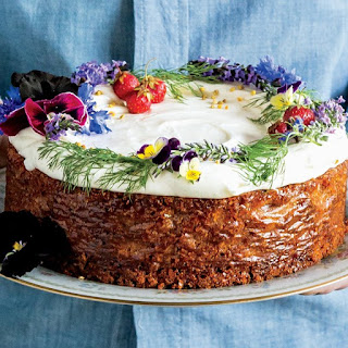 Spiced Honey Cake With Cream Cheese Frosting